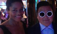 Bond Girl Naomie Harris was fooled by the impostor.