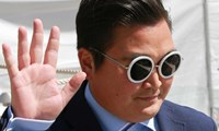 Here's what the fake Psy looked like...