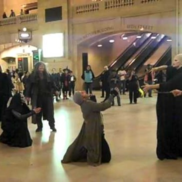 Voldemort, Death Eaters Attack Grand Central