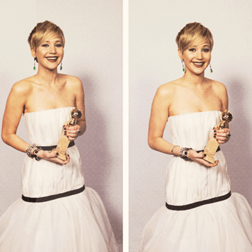 Like Everything She Touches, The Internet Loves Jennifer Lawrence's Golden Globes Dress