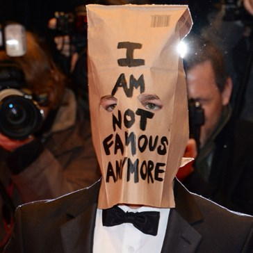 Shia LaBag-Head on the Red Carpet