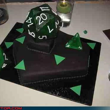 rollin' a d20 for marriage is a good sign.