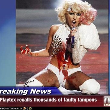 Breaking News - Playtex recalls thousands of faulty tampons