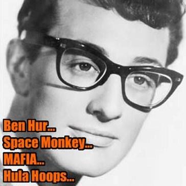 Ben Hur... Space Monkey... MAFIA... Hula Hoops... Castro... Edsel is a no go...