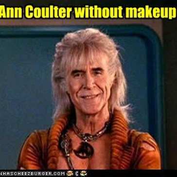 Ann Coulter without makeup