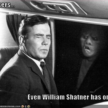Stalkers...  Even William Shatner has one...