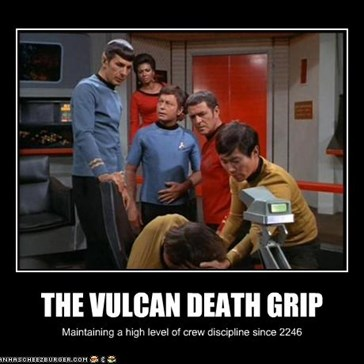THE VULCAN DEATH GRIP