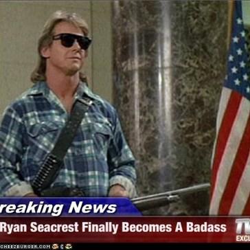 Breaking News - Ryan Seacrest Finally Becomes A Badass