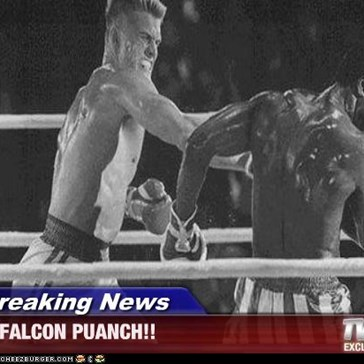 Breaking News - FALCON PUANCH!!
