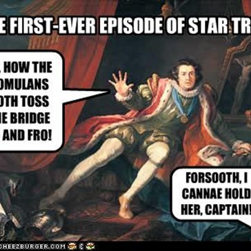 THE FIRST-EVER EPISODE OF STAR TREK