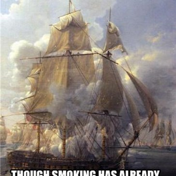 1564: THE FIRST-EVER SHIPMENT OF TOBACCO REACHES ENGLAND.