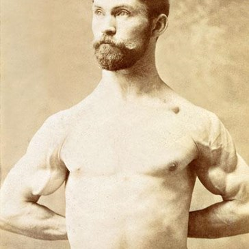 Mustache rides: sixpence.
