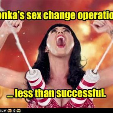 Willy Wonka's sex change operations was...