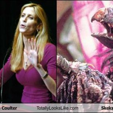 Ann Coulter Totally Looks Like Skeksis