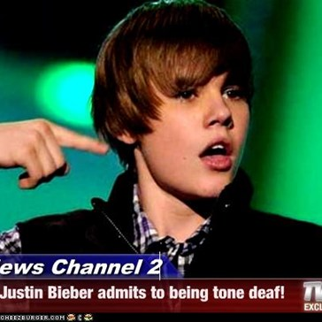 News Channel 2 - Justin Bieber admits to being tone deaf!