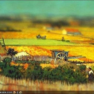 Photo Collection: Tilt-Shift Van Gogh