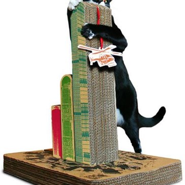 Cat-Zilla Scratching Post