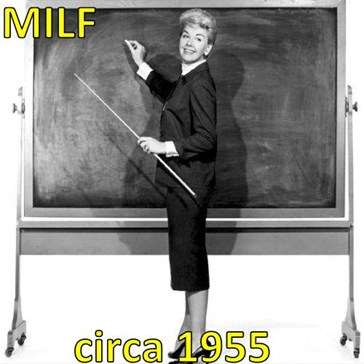MILF  circa 1955