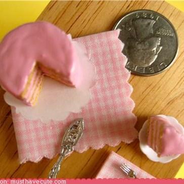 Miniature Pink Cake