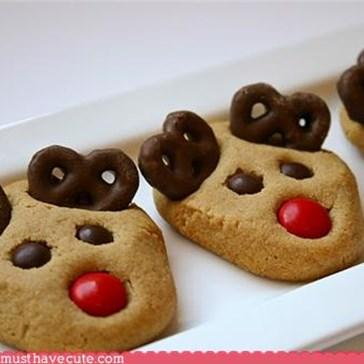 Epicute: Peanut Butter Reindeer Cookies