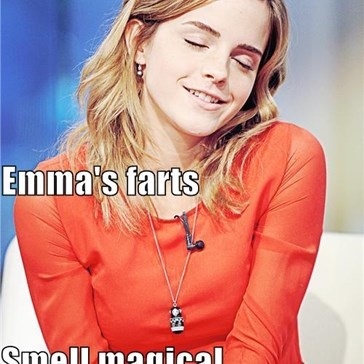 Emma's farts Smell magical
