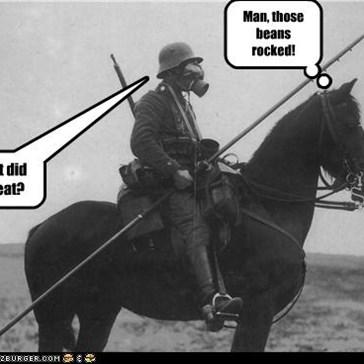 NAZI horse.