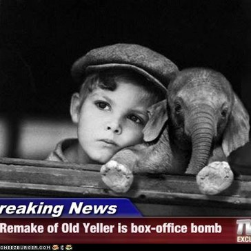 Breaking News - Remake of Old Yeller is box-office bomb