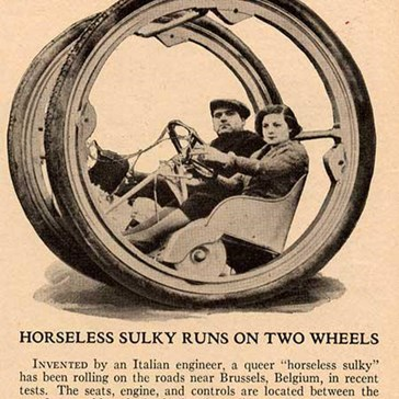 Vintage Future: Horseless Sulky