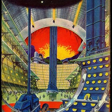 Vintage Future: A City On Uranus