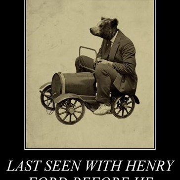 LAST SEEN WITH HENRY FORD BEFORE HE MYSTERIOUSLY DISSAPERAED.