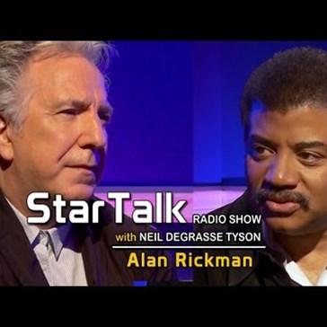 """Alan Rickman Joins Neil deGrasse Tyson on """"Star Talk"""""""