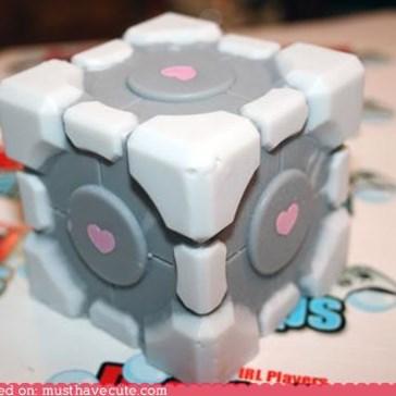 Companion Cube Soap