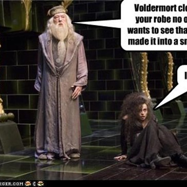 Dumbledore only likes Grindelwald nude