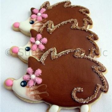 Epicute: Fancy Hedgehog Cookies