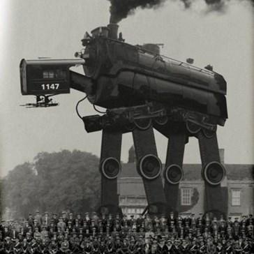 Steam Powered Imperial Walkers: Sweet!