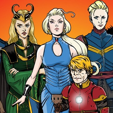 Game of Thrones Characters as Avengers. Sure, Why Not.