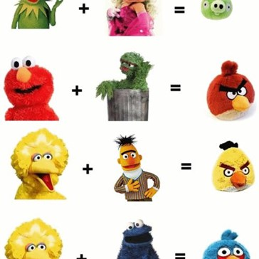 Origin Of Angry Birds: Mind=Blown