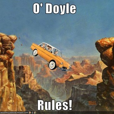 O'Doyle, I Got A Feeling Your Whole Family's Going Down