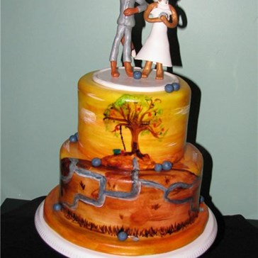 Epicute: Fantastic Mr. Fox Cake