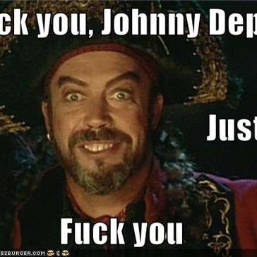 Fuck you, Johnny Depp Just... Fuck you