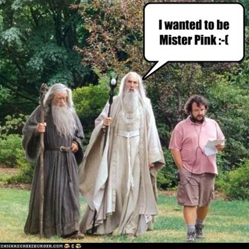 Saruman the Pink has a nice ring to it