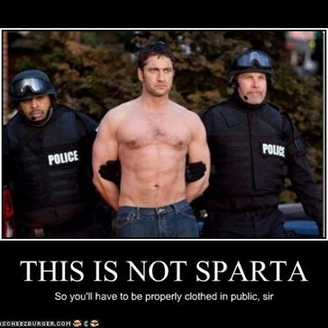 THIS IS NOT SPARTA