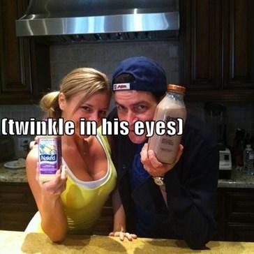 naked? (twinkle in his eyes) hmmmmmmmm...