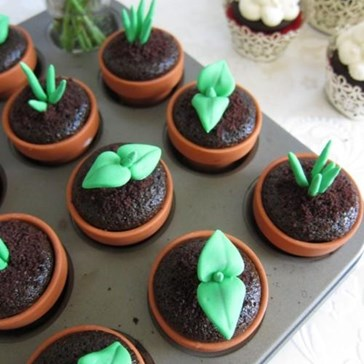 Epicute: Lil Sprout Cupcakes