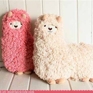Alpaca Hug Pillow
