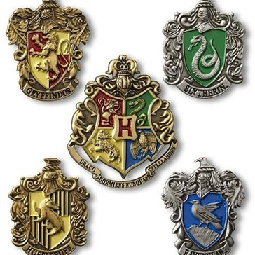 Harry Potter Hogwarts House Pins