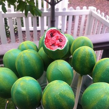Epicute: Watermelon Cake Pops