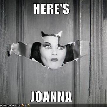 HERE'S  JOANNA