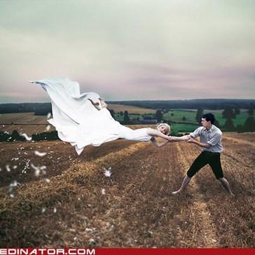 Blustery Bride