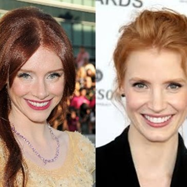 Bryce Dallas Howard Swears She's a Different Person than Jessica Chastain